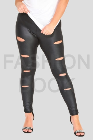 Wholesale-fashionbook-plus-size-curve-wetlook-legging