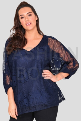 fashionbook wholesale plus size lace top