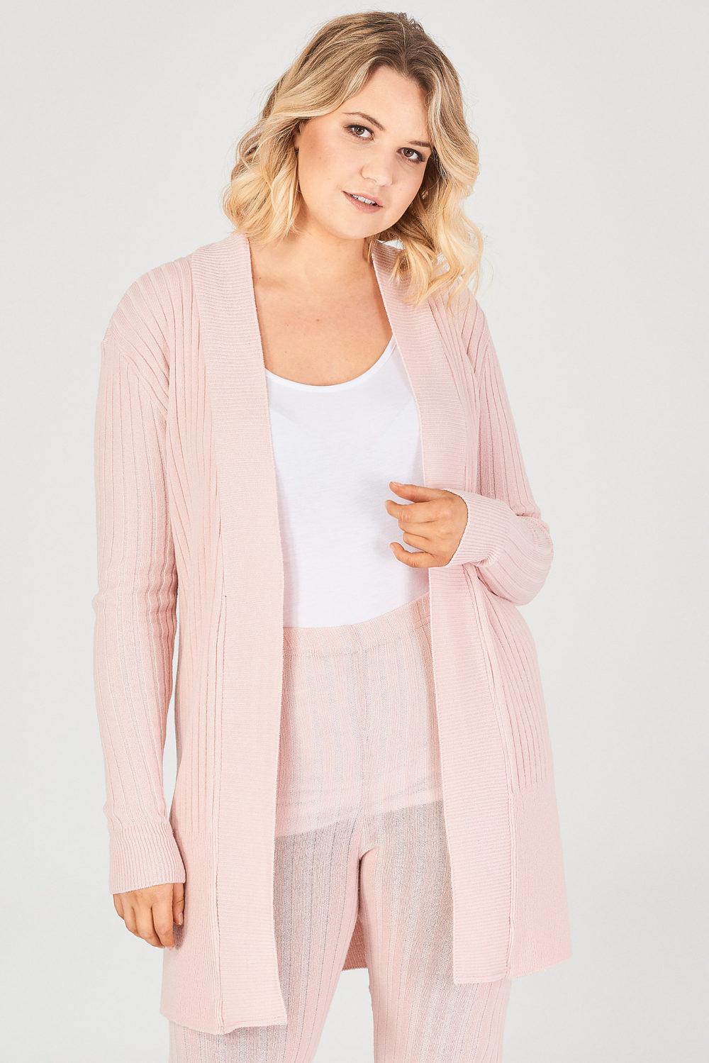fashionbook wholesale plus size clothing knitted cardigan