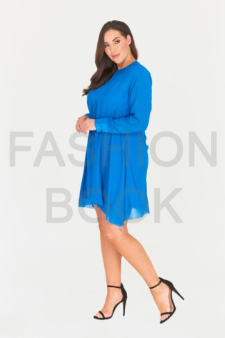 Fashionbook Wholesale plus size clothing chiffon swing dress