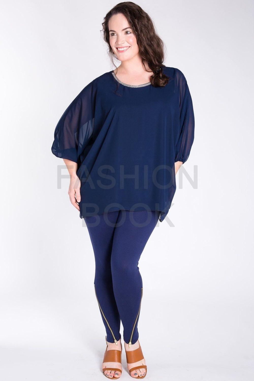 Fashionbook wholesale zip hem plus size leggings