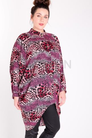 Fashionbook wholesale plus size clothing tunic shirt