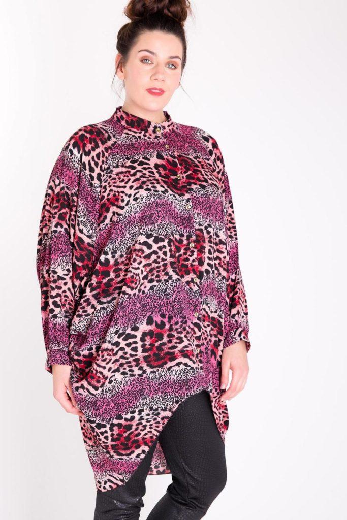 Fashionbook wholesale plus size clothing tunic shirt
