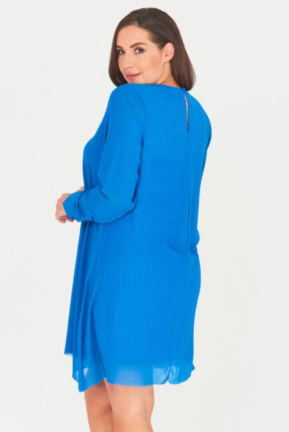 Fashionbook Wholesale plus size clothing chiffon swing dress