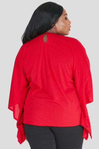 Fashionbook wholesale plus size clothing embellished poncho