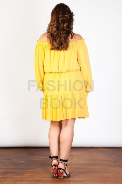 Fashionbook wholesale plus size bardot off the shoulder dress