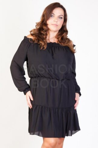 Fashionbook wholesale plus size bardot off the shoulder dress