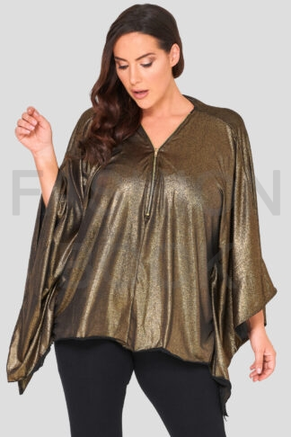 Fashionbook wholesale plus size poncho top