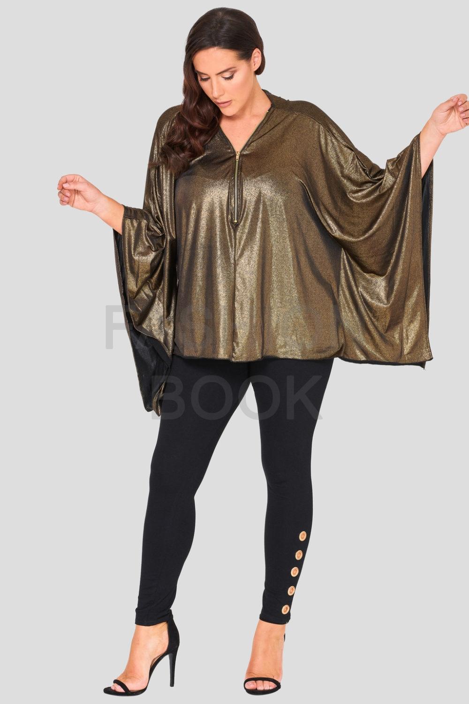 Fashionbook wholesale plus size poncho top