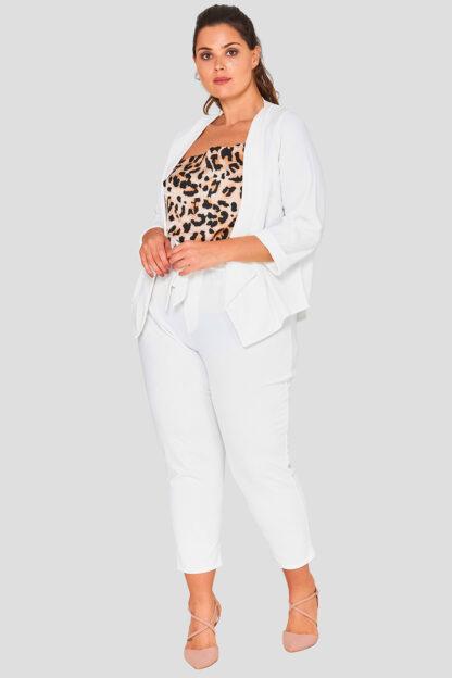 Cowl Print Cami Plus Size Top Wholesale
