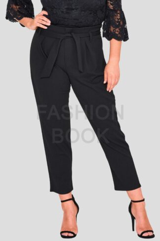 Plus Size Paper Bag Trouser Wholesale