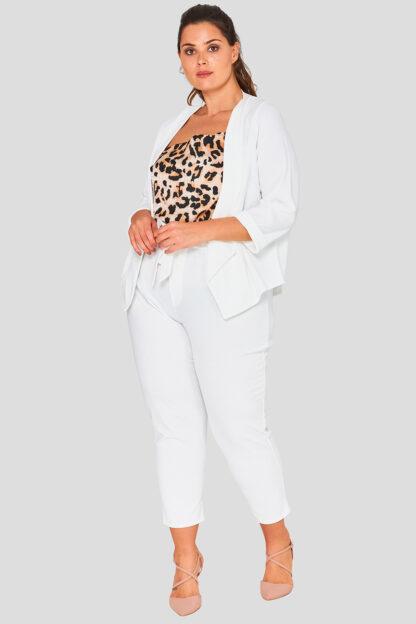 Drape Front Plus Size Wholesale Blazer