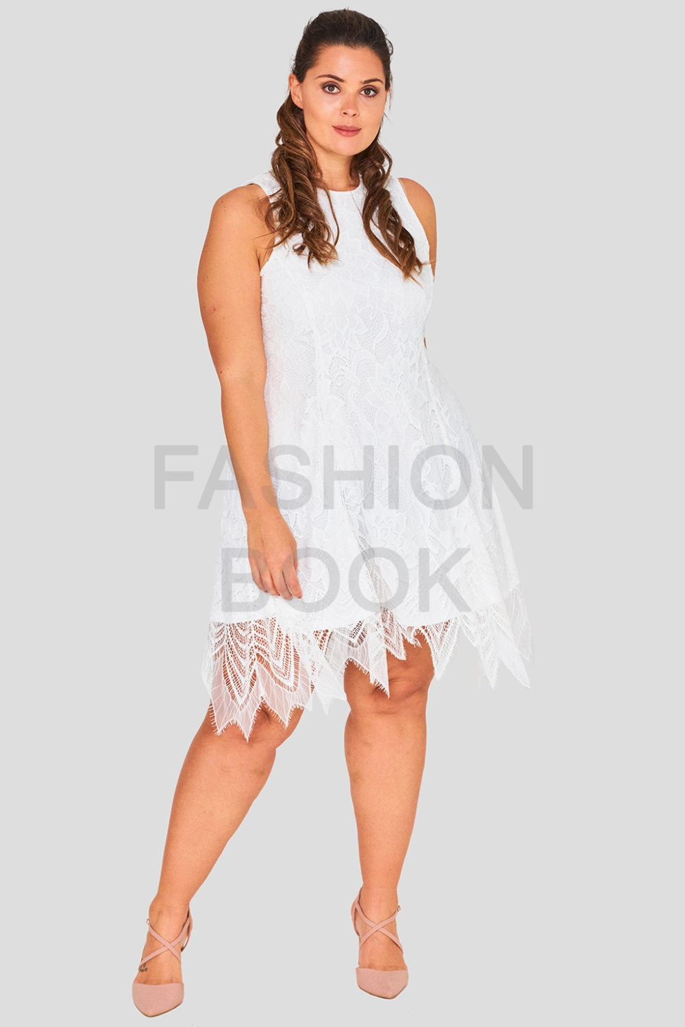 Hand Cut Vintage Plus Size Wholesale Lace Dress