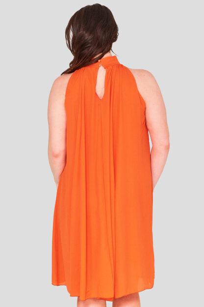 High Neck Plus Size Swing Dress Wholesale