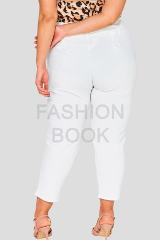 Paper Bag Waist Plus Size Wholesale Trousers