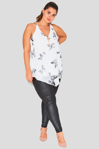 Wholesale fashionbook wetlook leggings plus size