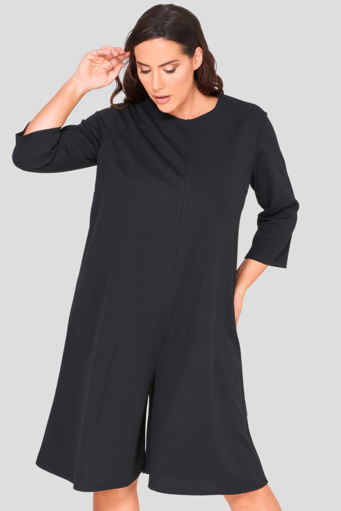 Crepe Jersey Plus Size Wholesale Jumpsuit