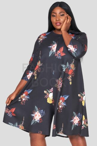 Crepe Jersey Plus Size Wholesale Jumpsuit
