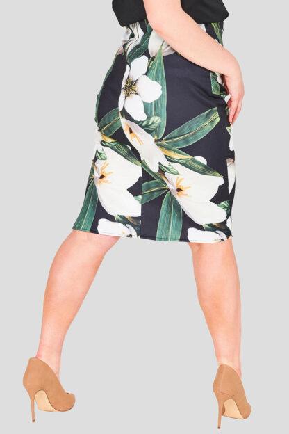 Zip Back Plus Size Wholesale Pencil Skirt