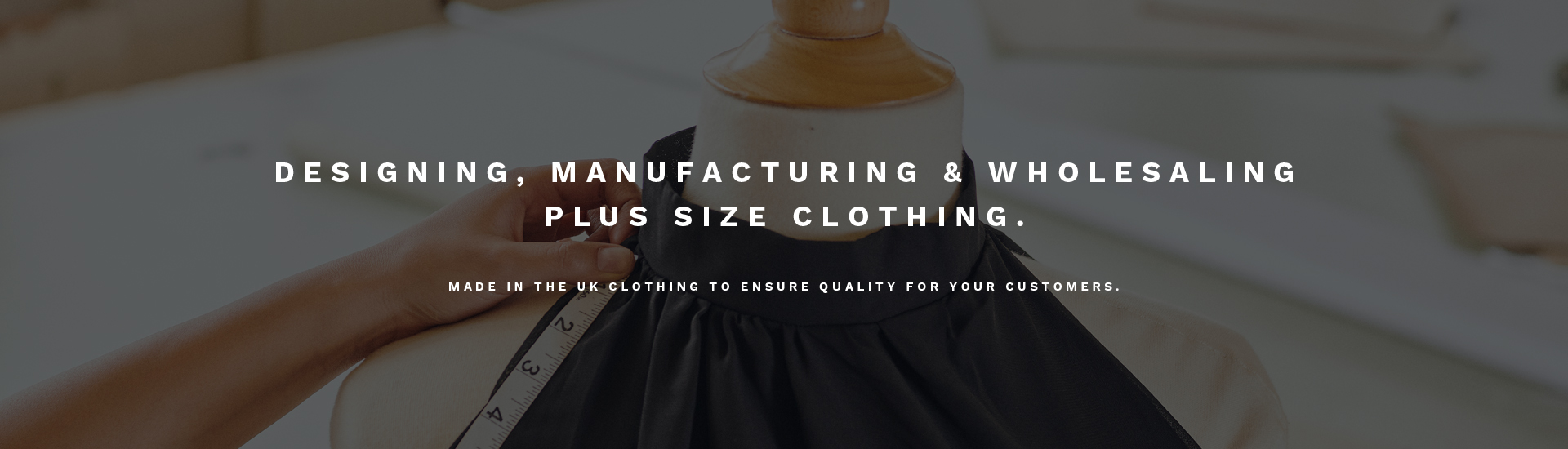 British Wholesale Plus Size Manufacturer