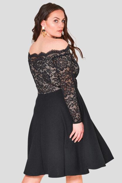 Off The Shoulder Lace Dress Wholesale