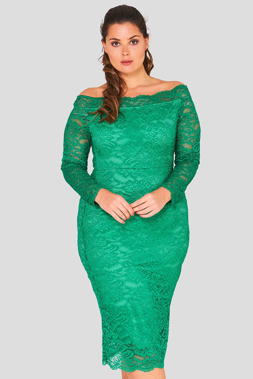 Bardot Lace Dress Wholesale