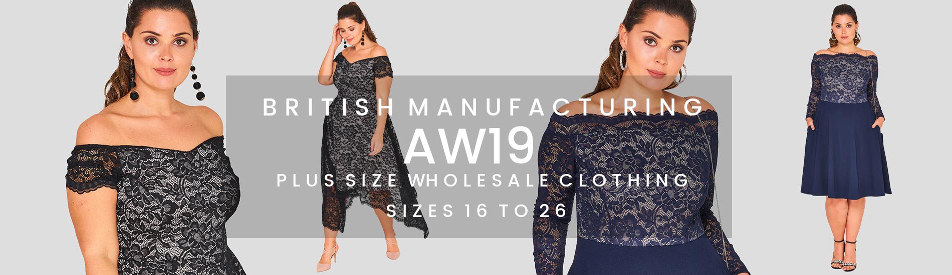 AW16 Wholesale Plus Size Clothing